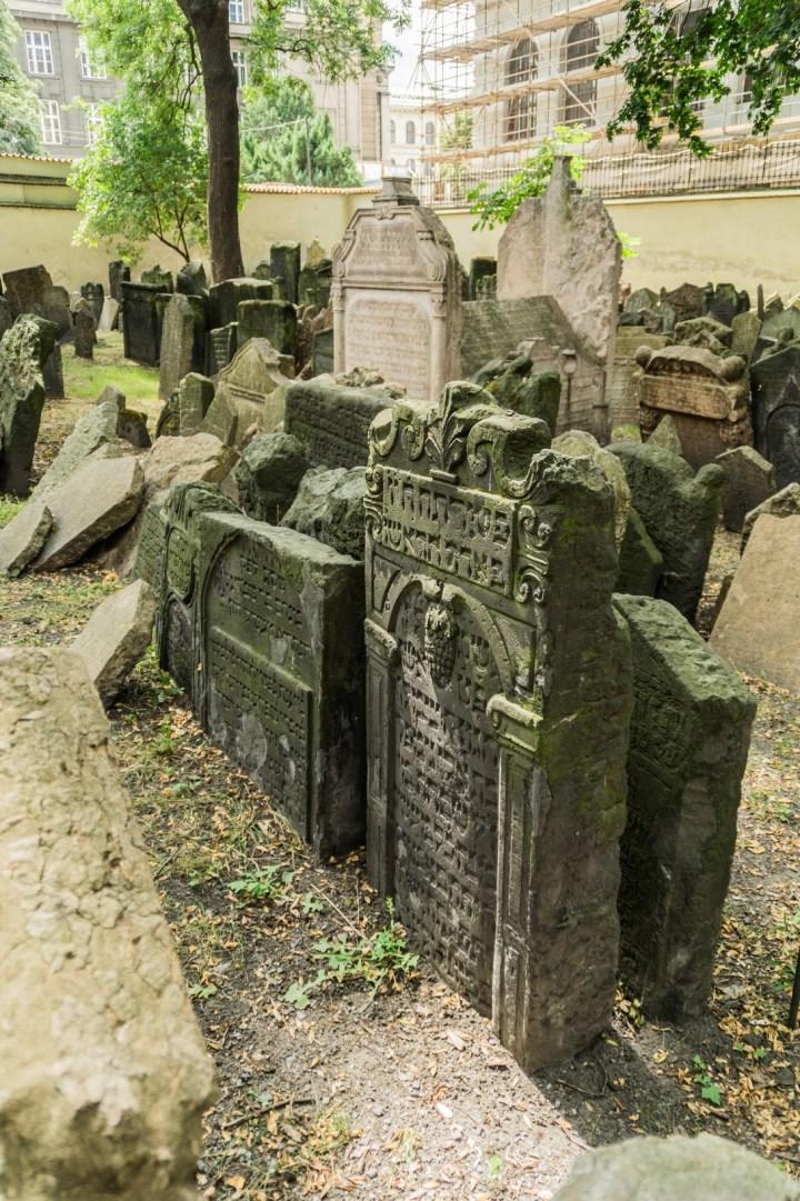 Praga - Cmentarz Żydowski