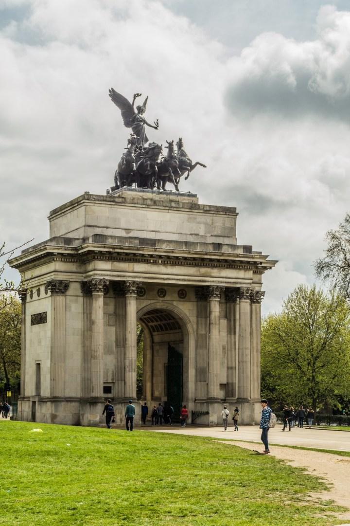 Londyn - Łuk Wellingtona