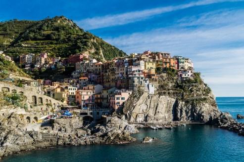 Cinque Terre - żegnamy Manarolę