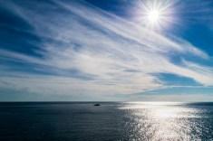 Cinque Terre - widok morza uspokaja
