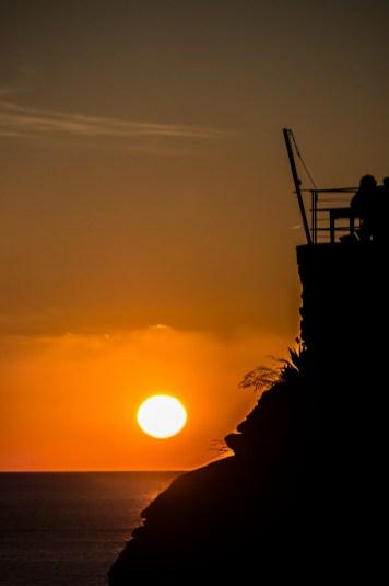 Cinque Terre - Riomaggiore, piękne zachody słońca nad morzem
