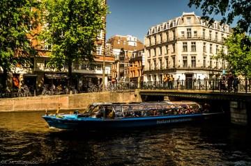 Amsterdam - tramwaj wodny