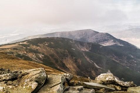 Babia Góra - górska panorama