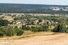Główny Szlak Świętokrzyski - panorama Gór Świętokrzyskich