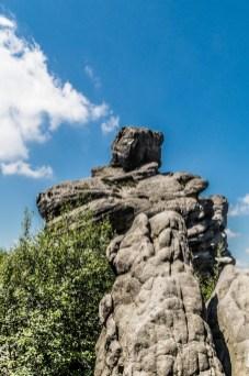 Szczeliniec - skały mogą być piękne