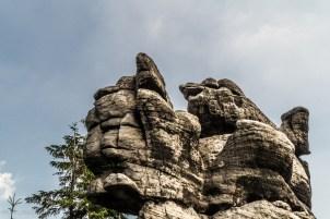 Szczeliniec - kilka skałek