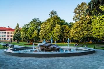 Janów Lubelski - fontanna