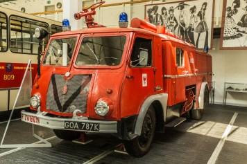 stary wóz straży pożarnej