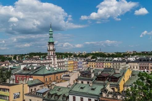 Zamość - panorama miasta