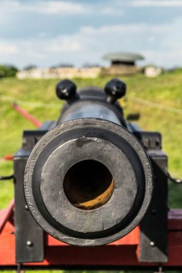 Zamość - oko w oko z armatą