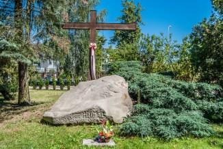 cmentarze w kielcach - henryk dobrzański ps hubal mogiła