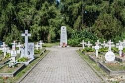cmentarze w kielcach - cmentarz partyzantów