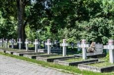 cmentarze w kielcach - cmentarz partyzantów mogiły