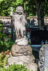 cmentarze w kielcach - cmentarz stary dziecko