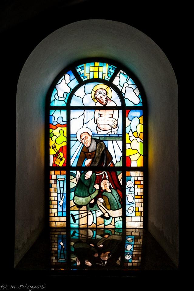 częstochowa - Kościół św. Zygmunta witraż