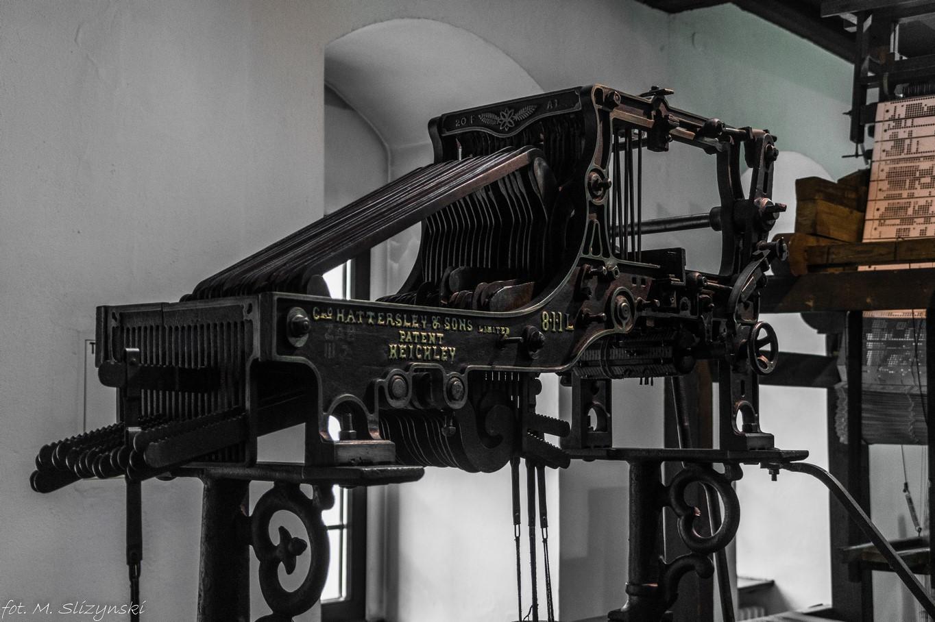 Łódź - maszyny włókiennicze