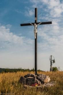 Chęciny - przydrożny krzyż