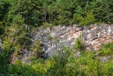 Szewce - ściany kamieniołomu