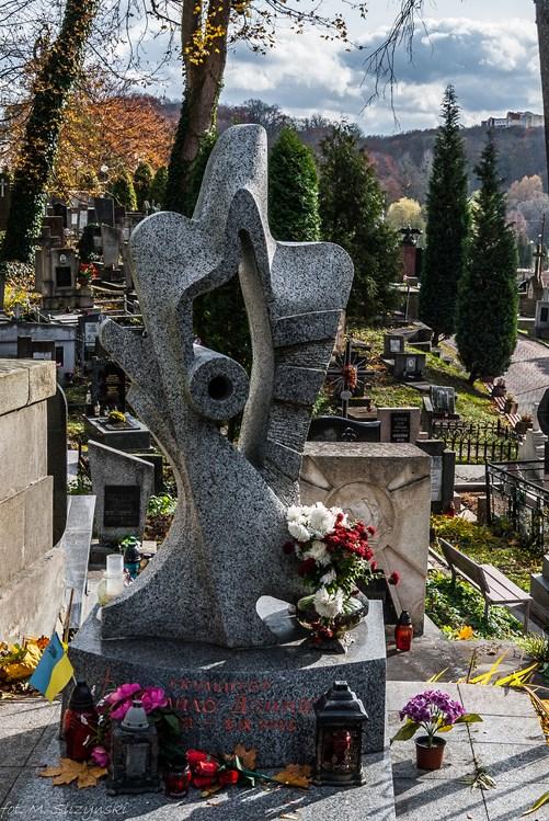 Groby na lwowskim cmentarzu