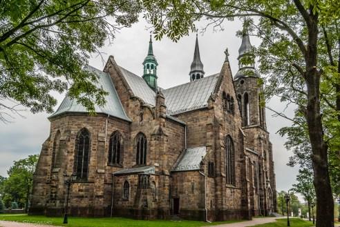 budynek kamiennego kościoła
