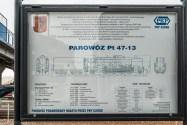 tablica specyfikacji parowozu pt47-13