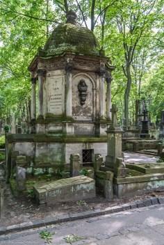 stare powązki - grób rodzinny
