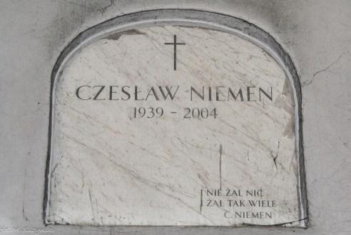 stare powązki - czesław niemen grób
