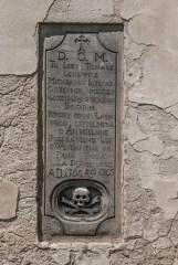 tablica epitafijna Kościół pw. Wniebowzięcia Najświętszej Marii Panny iłża