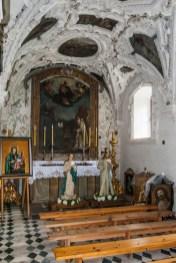 zdobiona kaplica w kościele