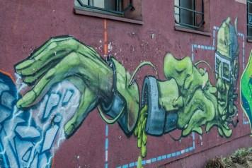 żywiec - street art moc