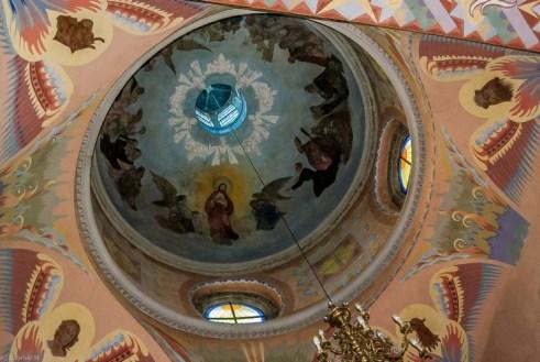 żywiec - Konkatedra Najświętszej Marii Panny sufit