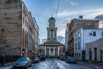 Moskiewskie Przedmieście w Rydze - kościoły