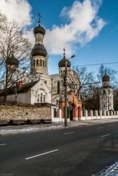 Moskiewskie Przedmieście w Rydze - cerkwie