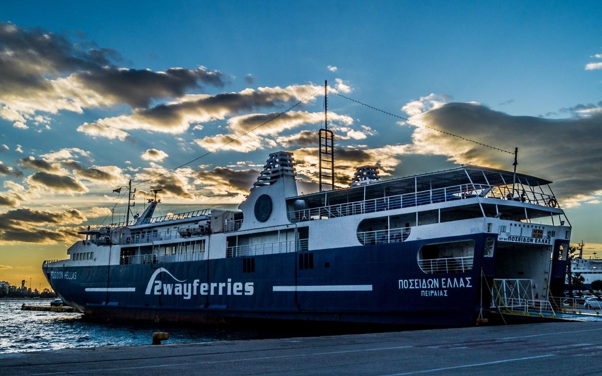 Port w Pireusie