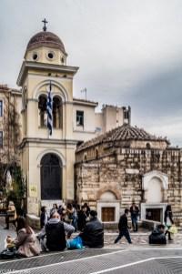 kościoły - okolice Akropolu