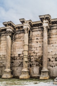 Biblioteka Hadriana - okolice Akropolu