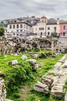 Biblioteka Hadriana - Ateny