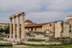 Ruiny - okolice Akropolu