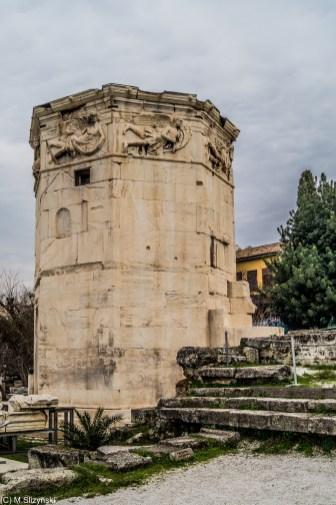 Wieża Wiatrów - okolice Akropolu