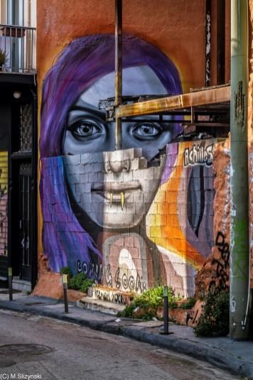 okolice Akropolu - street art