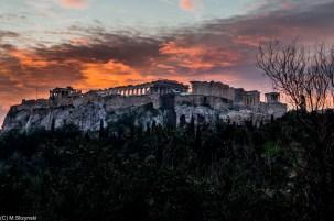 Ateny - droga do Akropolu