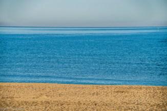widok morza plaża darłówko