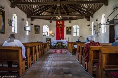 Wnętrze Kościoła św. Jerzego - darłowo