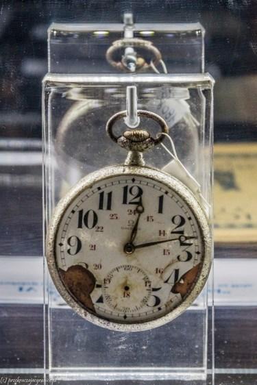 półwysep helski - Muzeum Obrony Wybrzeża zegarek