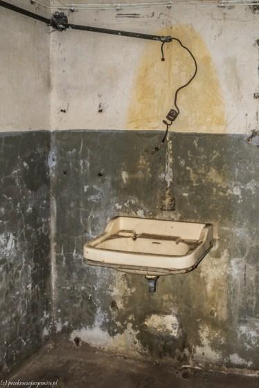półwysep helski - Wystawa Makabra XX wieku umywalka