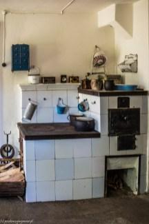 wnętrze domu kuchnia Muzeum Wsi Słowińskiej