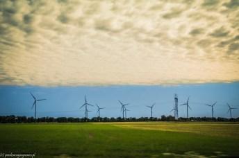 farmy wiatrowe stepnica - na północ od szczecina