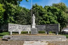 pomnik ludziom morza ustka - pomorze