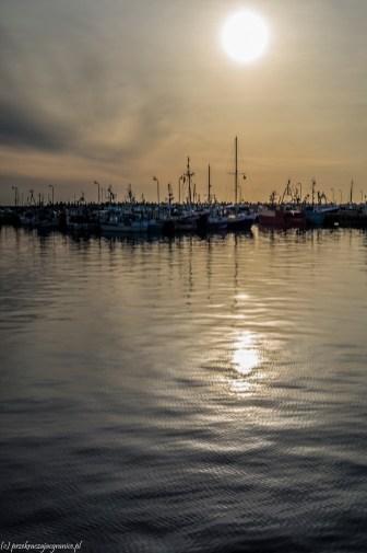 półwysep helski - port rybacki władysławowo