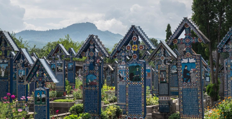 wesoły cmentarz - sapanta rumunia